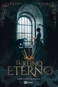 Portada del Reino Eterno. Novela fantástica y con tintes misteriosos y paranormales.