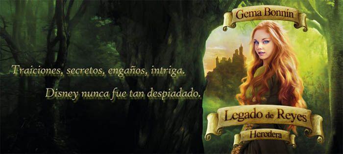 Banner promocional del Libro Heredera