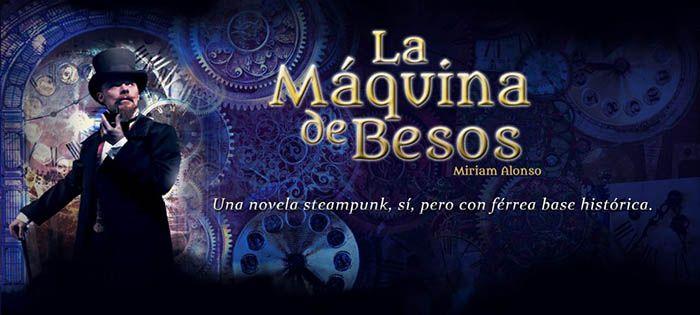 Banner promocional para La Maquina de Besos