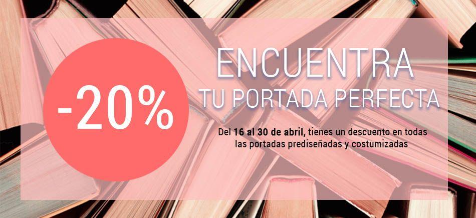 20% de descuento en diseño de portadas