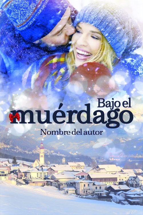 Portada prediseñada para novela romantica navideña