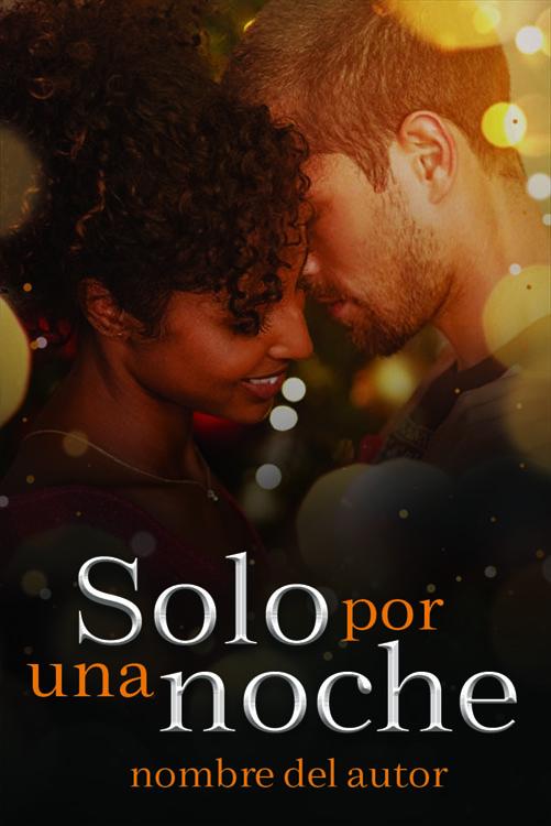 Portada prediseñada pareja interracial para novela new adult o romantica