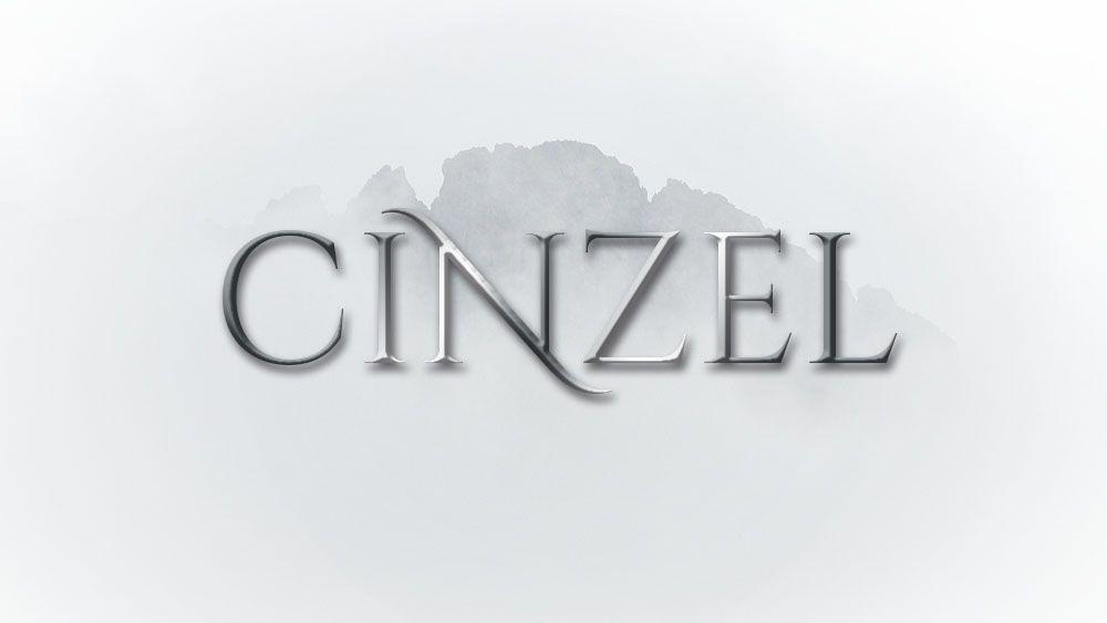 tipografías para una novela de fantasía. Fuente CINZEL