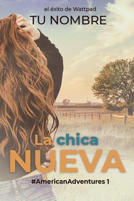 diseño de portada de libro con chica de espaldas en un campo con árboles