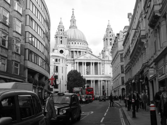 Londres. Ejemplo de contenido en instagram para escritores