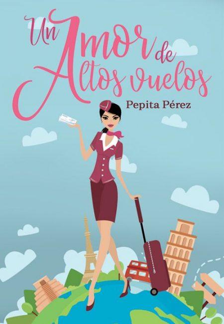 Portada prediseñada para un libro de comedia romantica novela chick lit en español